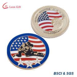 Desafío personalizada de fábrica de moneda, Recuerdo Monedas militar EE.UU.