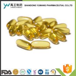 La réduction des graisses sanguines certifiées GMP Organic Flaxseed Huile Softgel α -l'acide linolénique