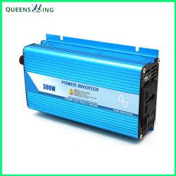 فلطائي ضوئي عالي التردد 300 واط تيار مستمر 24 فولت إلى تيار متردد 220 فولت جيبي محول متموج (QW-P300)
