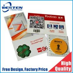 Logo personnalisée OEM Pad promotionnels Affichage téléphone mobile cellulaire Sticky microfibre nettoyant pour écran