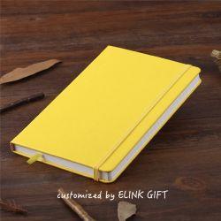 伸縮性があるストラップバンドが付いている低いMOQによってカスタマイズされるノート日記の本