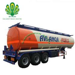 Aanhangwagen van de Tank van de Aanhangwagen van de Legering van het aluminium de Chemische Vloeibare