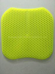 Гель мягкие подушки сиденья дышащий материал с защитный футляр для Председателя управления автомобиля гель для инвалидных колясок подушки сиденья