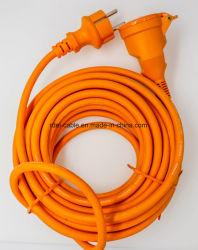 Европейский удлинительный шнур, водонепроницаемый удлинительный шнур с пружиной затвор GS NF