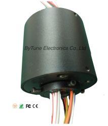 Attraverso l'anello di contatto del foro del foro interno 12.7mm, Od56mm, 12 circuiti, 10A, collegare di 3000mm