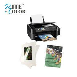180 GSM литая глянцевая фотобумага для струйных принтеров с покрытием A3, A4, A6 4r листов для повседневной печати