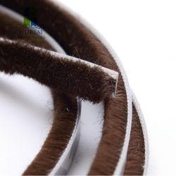 Verbinding van de Borstel van de Tochtstrip van de Stapel van de wol De Geweven voor Deur en Venster