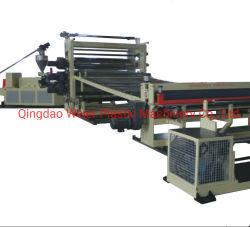 Piso de PVC da linha de produção de folhas duas camadas três camadas à prova de água da máquina de extrusão