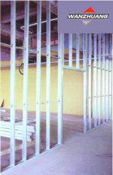Profili d'acciaio galvanizzati parete del muro a secco del gesso