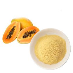 Gel de papaye organique extrait de plante séchée de jus en poudre