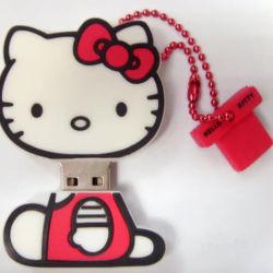 カスタマイズされた USB フラッシュドライブ Cute Cat フラッシュディスク PVC ソフト USB フラッシュディスク 256GB