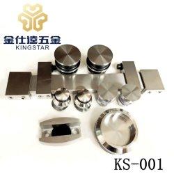de glijdende van de de deurrol van het schuurglas toebehoren van de de bijlagehardware voor badkamers ks-001