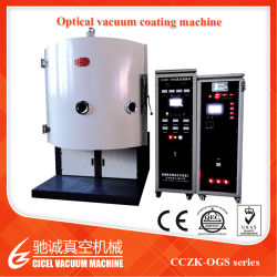 PLC+ИЧМ оптического контроля вакуума покрытие машины для стеклянный объектив, оптические линзы, бинокли, освещение сцен
