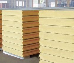 Zwischenlage-Panel des Baumaterial-PU/PIR/Rockwool/Glasswool/EPS für Stahlkonstruktion-Wand und Dach von Gilfor
