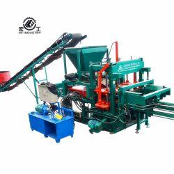 Best-seller faible prix Abuja machine à fabriquer des blocs de béton de ciment hydraulique couleur Qt4-20 Paver la machine