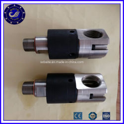 Industria Automotriz 21 rpm Rotatorio 5 Bar unión de la unión giratoria de acero inoxidable adaptador NPT macho