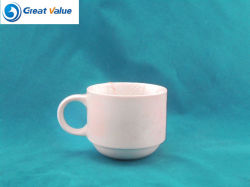 180ml barato Logotipo Granel Imprimir Louças Cup tem a plantadeira