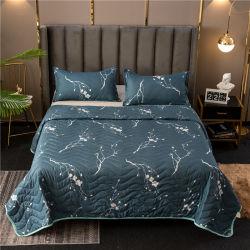 Qualité stable tissu imprimé de polyester à 100 % couvre-lit de la Courtepointe capot lit
