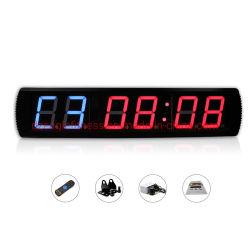 LED sechs digitale Countdown-Uhr Gym Digital Training Timer