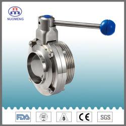 衛生ステンレススチール SS304/316L 手動溶接バタフライバルブおよびボールバルブおよびパイプ フィッティング