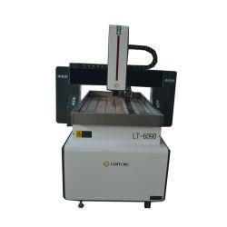 Preiswerte kleine Gravierfräsmaschine 6060 des Holz-3D Fräser CNC-6090 6012 9012 9015 1212 4axis mit Drehmittellinie