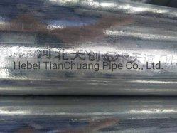 Revêtement de zinc lourd restes explosifs des guerres Tuyau en acier au carbone galvanisé