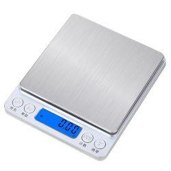 Scala di dieta di alimento dei monili con la scala elettronica della cucina esterna di Digitahi