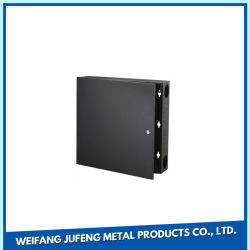 Hoja de metal de aluminio de fabricación de OEM de la estampación de piezas de ordenador portátil con el pedestal
