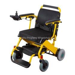 sedia a rotelle a pile pieghevole di potere della lega di alluminio con Ce, ISO13485