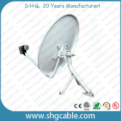 60cm bande Ku plat d'antenne Satellite