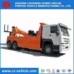 6X4 HOWO Rotator dépanneuse Chariot de remorquage de 25 tonnes de dépanneuse dépanneuse Underlift dépanneuse de dépanneuse pour la vente au Kenya