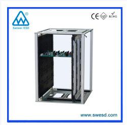 SMT ストレージホルダ基板用、静電気防止高品質調整可能 ESD マガジンラック