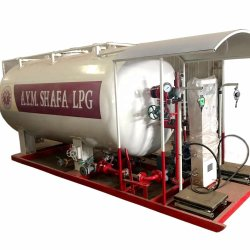 La Chine Fournisseur de 10m3 20m3 30m3 et de régulation de pression de gaz GPL station de dosage, bouteille de GPL en usine pour la vente