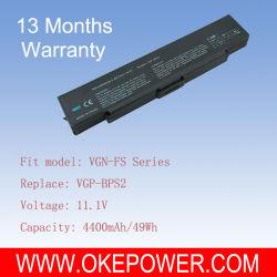 Remplacement batterie pour portable VGP-BPS2 pour Sony VGN-FS (OKE-SYBPS2L4)
