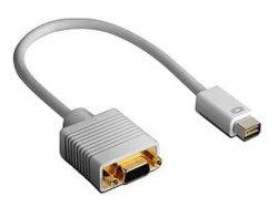 Mini DVI ذكر إلى VGA Female (W729)