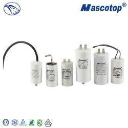 Condensatore corrente del motore del condensatore 10UF/450V della lavatrice di CA del dispositivo d'avviamento Cbb60