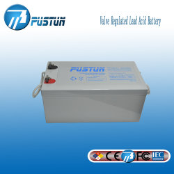 3 van de Garantie van de Opslag van de Zonne12V 250ah van het Gel Diepe jaar Batterij van de Cyclus voor de Bank van de Macht