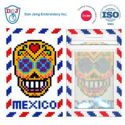 Cosido en el mosaico de Etiqueta de Equipaje/ Titular de la tarjeta de identificación- México