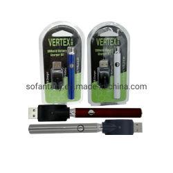 最高点の法律のLo VVの充電器キット350mAhの二酸化炭素オイルは電池Eのタバコを予備加熱するVapeのペンが510の噴霧器オイルのカートリッジに合った
