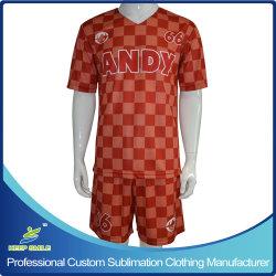 Sublimación personalizado de secado rápido cómodo el equipo del Club de Fútbol de las prendas de vestir