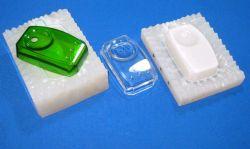 Moule en silicone de moulage sous vide pour Mobil cas