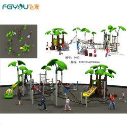 2014 Neue Magic Tree House Serie Kinder Plastikrutsche, Outdoor Kinder Spielplatz, Outdoor Spielplatz Set