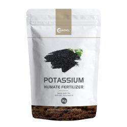 El potasio Humate del polvo de hojuelas de fertilizante orgánico agrícola