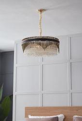 Modern luxuriöses Wohnzimmer, Kristallleuchter des Hotel-Hauptdekoration-Licht-GoldK9 (BL904-600PC-A) anpassen