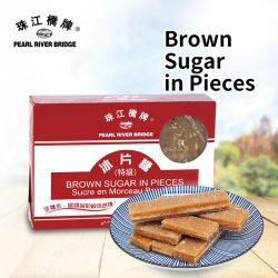 454G(상자) 펄 리버 브릿지 음식 조각 갈색 설탕 첨가제 럼프 설탕