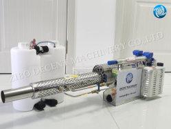 Электрический тепловой машины запотевание стекол с литиевой батареей и аккумуляторной батареи Lead-Acid Специальные машины тумана для крупномасштабного дезинфекции больницы и дезинфекции