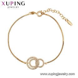 Мода латунные Gold валики браслет для девочек