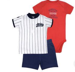 As crianças lactentes Onesie bebê moda jovem rapaz romper