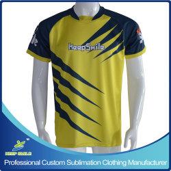 Vêtements de soccer de sublimation personnalisé pour le soccer T-shirts