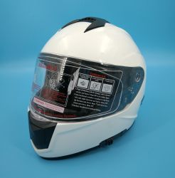 Veiligheidsbescherming voor motoraccessoires ABS Full Face Helmet half Open Jet modulair kruis F-811 dubbele kleppen met DOT en ECE Certificaten